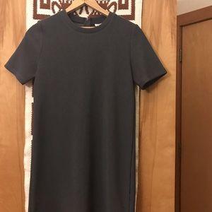 Forever21 Gray T-Shirt Dress